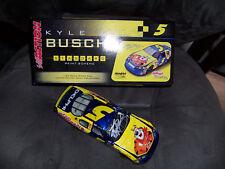 2006 Kyle Busch #5 CarQuest Monte Carlo Club Car Color Chrome Autographed