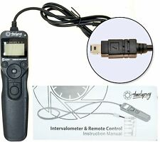 DSLR Intervalometer / Timer Shutter Release for Time-lapse Photography + Astro L