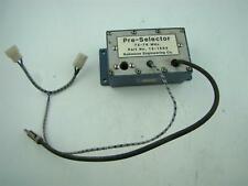 Pre Selector Module 72 76 Mhz 12 1563