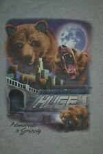 The Hundreds X Grizzly LA River Urban Skater Skateboarding T Shirt Large