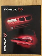 1996 Pontiac Brochure Sunfire Trans Am Grand Prix Grand Am
