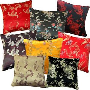 Pillow Cover*Chinese Rayon Brocade Throw Seat Pad Cushion Case Custom Size*BL4
