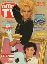 rivista NUOVA GUIDA TV ANNO 1990 NUMERO 16 HEATHER PARISI E FRANCESCO SALVI