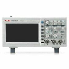 Uni T Digital Storage Oscilloscope Utd2102cex 7 2 Channel 100mhz 1 Gsas Bench