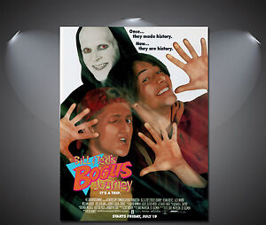 Bill and Teds Bogus Journey Vintage Movie Poster - A1, A2, A3, A4 Sizes