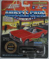Johnny Lightning -'69/1969 Pontiac GTO Judge Nero Nuovo/Scatola Originale