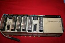 Omron C200H PLC Expansion Unit PS221, AD001, OD215, OD211, OC222, ID212, MD215