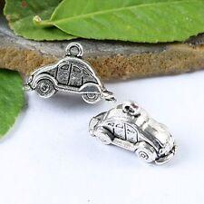 10pcs Tibetan silver car charms findings h1087