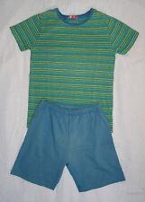 Pyjama à rayures (2 pièces) d'été pour garçon, Du Pareil Au Même, 6 ans (114 cm)