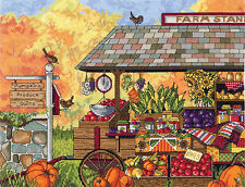 Cross Stitch Kit ~ Janlynn Buck's County Farm Stand #017-0111