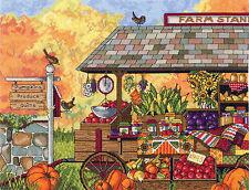 Cross Stitch Kit ~ Janlynn Buck's County Farm Stand #017-0111