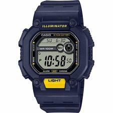 Casio W737H-2AV, Digital Watch, Resin Band, Stopwatch, Alarm, 10 Year Battery