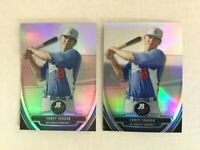 COREY SEAGER - 2013 Bowman Platinum Lot - Base & Chrome Prospect Refractor
