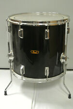 "ADD this VINTAGE PEARL 16"" BLACK FLOOR TOM to YOUR DRUM SET TODAY! LOT #K142"