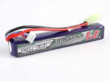New Turnigy nano-tech 1200mah 3S 15C 25C 11.1V Lipo Battery Airsoft Pack US