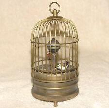 Collection Vieux Cuivre Birdcage-forme Horloge Murale / Pendules / Horloges
