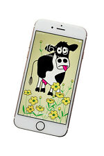 MOO COW Phone screensaver/wallpaper - fits all phones. DIGITAL download.