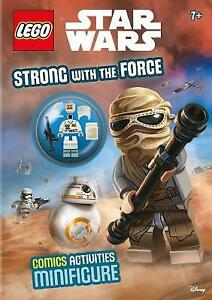 LEGO Star Wars: Strong with the Force (Activity Book with Minifigure) NEW Book