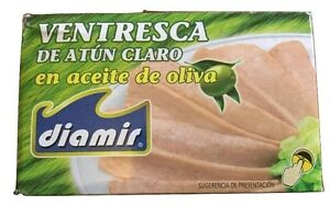 Ventresca - Belly fillets of light tuna in olive oil - 72g Drained weight