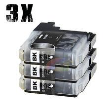 3x Ink Cartridge LC133 LC137 Black For Brother DCP J172W J152W J552DW Printer OZ