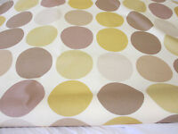 "5 Metres Brown Spots Printed 100% Cotton Fabric. Prestigious Textiles, 54"" Wide."