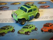 AFX Collectors L@@K Rare & Hard to find Bright Green VW Baja Bug Model Motoring