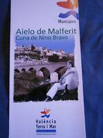 Lote - Folletos Informativos Sobre Nino Bravo y Aielo de Malferit