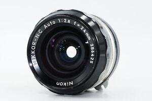 Nikon Nikkor Non-AI 24mm F2.8 NC Lens 24/2.8 #425