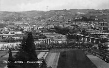Foto AK Acqui Panorama Ortsansicht Postkarte Echt Foto gel. 1933 Italien