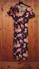 Club L Oriental Floral Trumpet Dress Size 14 BNWT (1) B5