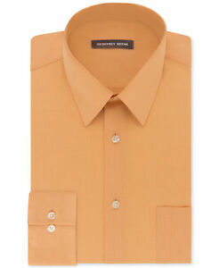 Geoffrey Beene Men's Classic-Fit  Bedford Cord Dress Shirt, 2XL / 18 1/2