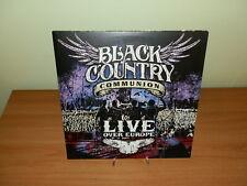 BLACK COUNTRY COMMUNION LIVE OVER EUROPE 2012 LP VINILE USATO SICURO