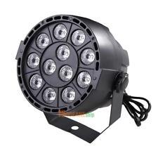 12 LED RGBW 4IN1 DMX 8CH Beam DJ Wedding Wash Stage Par Lighting #ORP