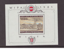 Austria MNH 1981 Architecture  WIPA Stamp Exhibition  mint stamp SGMS1893