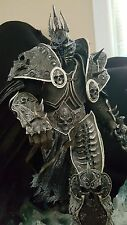 Authentic Sideshow Arthas Lich King Statue