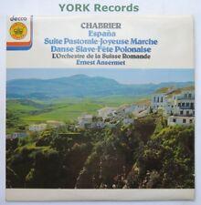 JB 10 - CHABRIER - Espana ANSERMET Suisse Romande - Excellent Con LP Record