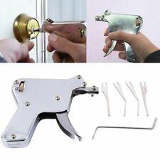 Strong Lock Bumps Pick Key Gun-Repair Tool Kit Door Opener Stainless Steel K%