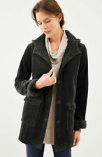 J.Jill Hooded Tumbled Cord Coat   3X  NWT  $169   BLACK