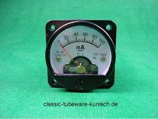2 x Panelmeter 45mm 100mA -  tube amp 2A3 300B EL34 KT88