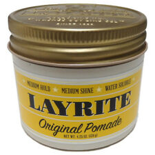 Layrite Original Hold Deluxe Pomade Travel Haircare Hair Styling 120g 1.5oz Free