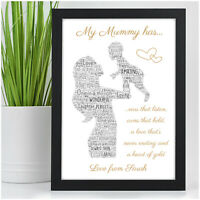 PERSONALISED Mummy Mum Nanny and Me Baby Birthday Gifts from Daughter Son