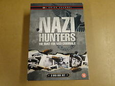 3-DVD BOX / NAZI HUNTERS - THE HUNT FOR NAZI CRIMINALS ( ORION CHANNEL )