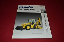Komatsu WB150AWS Backhoe Loader Dealer's Brochure DCPA6