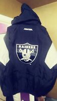 Vintage La Raiders Throwback Puffy Pullover Parka Starter Jacket Large New! NWA