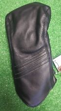 Sun Mountain Driver Headcover Striped Black Leather NEW Golf Accessory