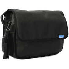 Caboodle Classic Baby Changing Bag Black Change Mat Nappy Diaper Bottle Pocket