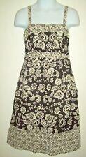 Xhilaration Girls Dress Size M 10 12 Navy White Floral Cotton Dress Summer