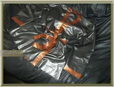 RARITÄT Latex dressing gown latex night dress latex casual dress latex raincoat