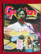 rivista GUITAR CLUB 5/1998 Eric Clapton Maurizio Solieri Dave Mustaine No cd