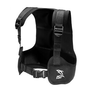 IST VSA0240 Free Diving / Apnea Weight Vest, Holds Up to 35lbs.